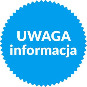 Uwaga! Informacja! | DDK Węglin