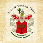 Obrazek przedstawia herb Dzielnicy Węglin oraz tekst Godność czyniącego dobro