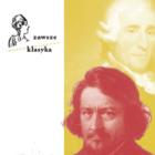grafika kolorowa, na jednej połowie zdjęcia Lessela na żółtym tle, po lewej logo cyklu Zawsze klasyka
