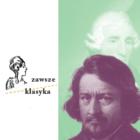 Grafika kolorowa - po lewej stronie logo cyklu Zawsze Klasyka, po prawej wizerunek Lessla o