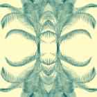 Grafika z kolorowymi gałązkami