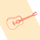 rysunek gitary